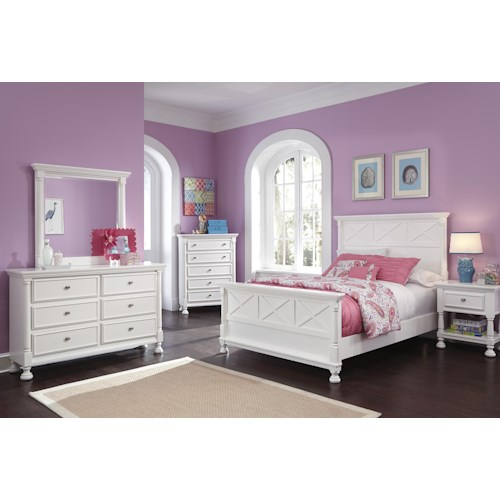 Signature Design by Ashley Kaslyn Queen Bedroom Group