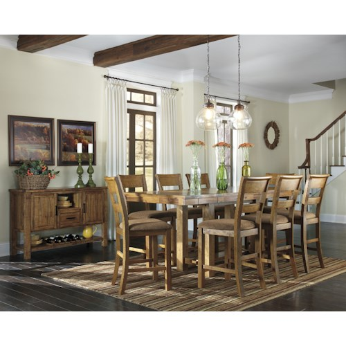 Signature Design by Ashley Krinden Casual Dining Room Group