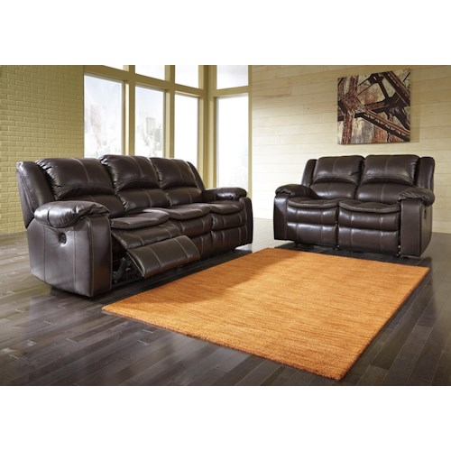 Signature Design by Ashley Long Knight Reclining Living Room Group