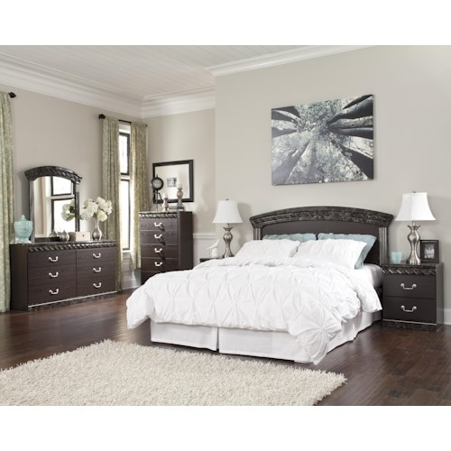 Signature Design by Ashley Vachel Queen/Full Bedroom Group