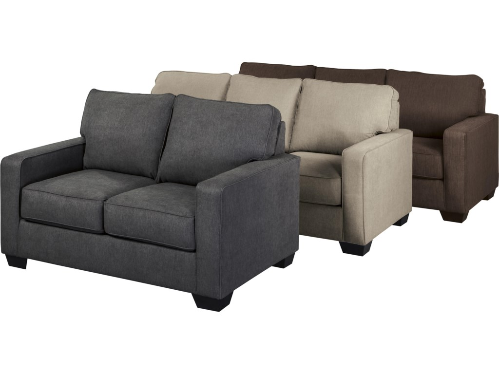 Signature Design by Ashley Zeb Twin Sofa Sleeper with Memory Foam – Twin Sofa Sleeper