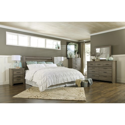 Signature Design by Ashley Zelen King/California King Bedroom Group