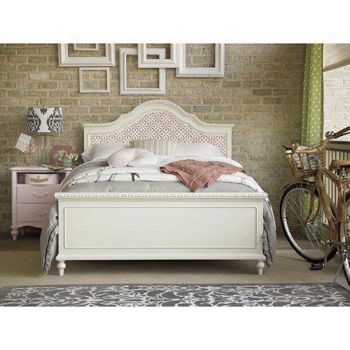 Morris Home Furnishings Bellamy Twin Trellis Bed Bedroom Group