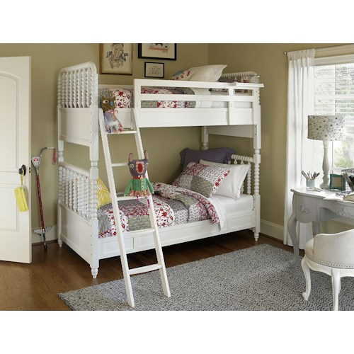 Morris Home Furnishings Bellamy Twin Bunk Bed Bedroom Group