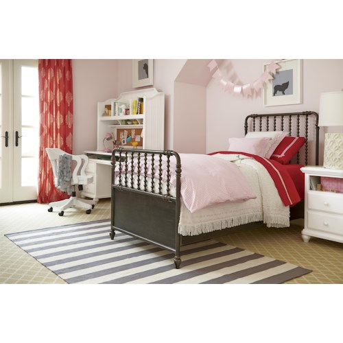 Universal Kids Smartstuff Black and White Full Bedroom Group