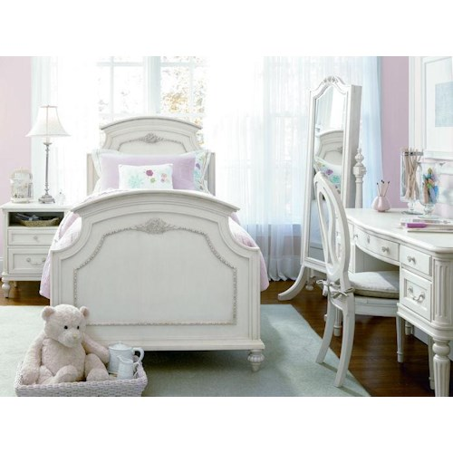 Universal Kids Smartstuff Gabriella Full Bedroom Group