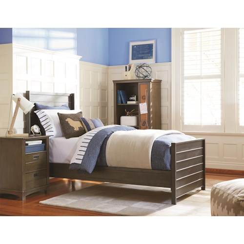 Universal Kids Smartstuff Varsity Twin Bedroom Group
