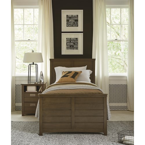 Morris Home Furnishings Varsity Twin Bedroom Group