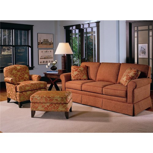 Smith Brothers 165 Stationary Living Room Group