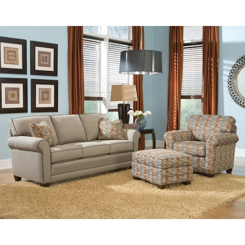 Smith Brothers 366 Stationary Living Room Group