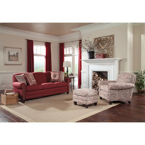 Smith Brothers 397 Stationary Living Room Group
