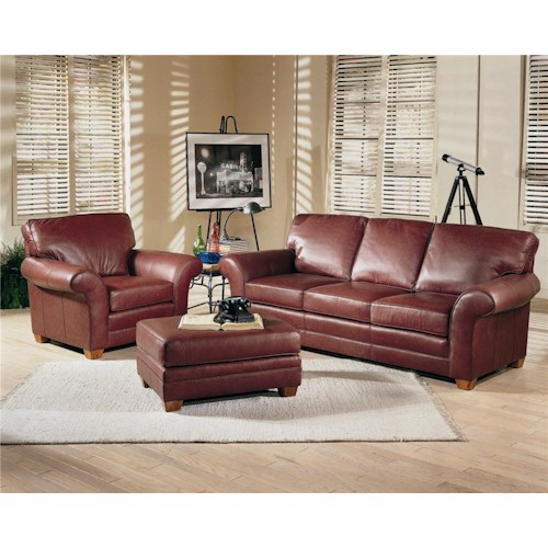 Smith Brothers 658 Stationary Living Room Group