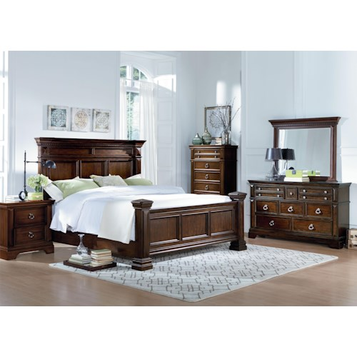 Standard Furniture Charleston California King Bedroom Group
