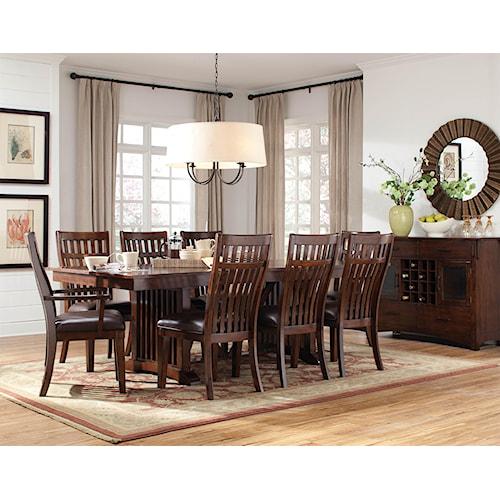 Standard Furniture Artisan Loft Formal Dining Room Group 1