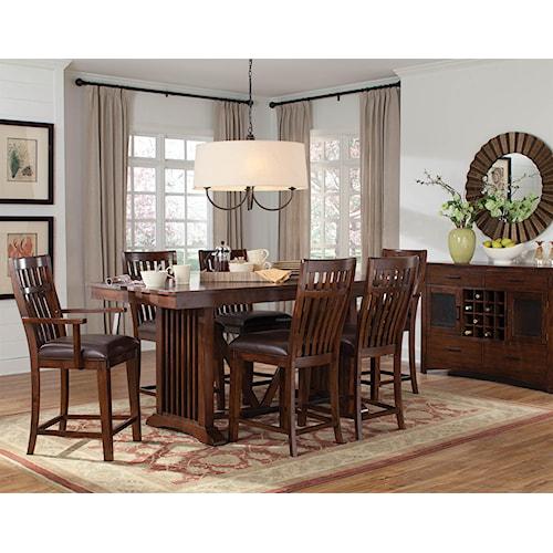 Standard Furniture Artisan Loft Pub Table Group 1