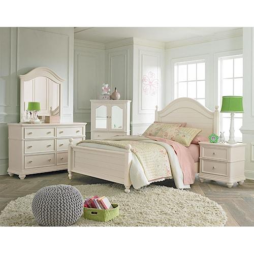 Standard Furniture Camellia Marshmallow Twin Bedroom Group