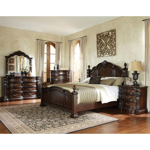Standard Furniture Churchill  King Bedroom Group 1