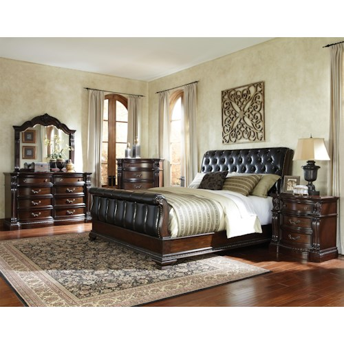 Standard Furniture Churchill  Queen Bedroom Group 2