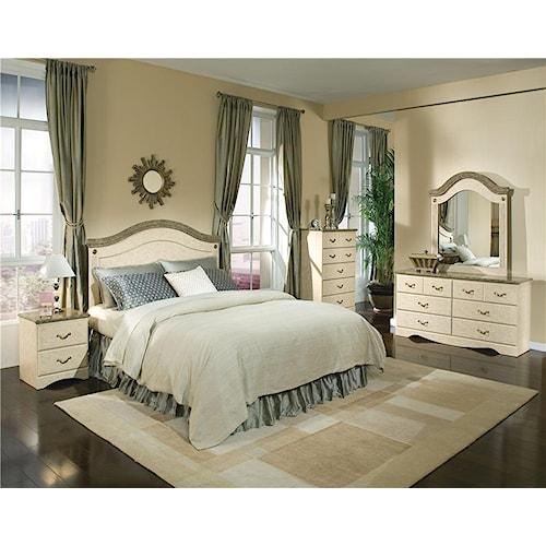 Standard Furniture Florence 5950 Queen Bedroom Group