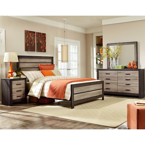 Standard Furniture Freemont Queen Bedroom Group