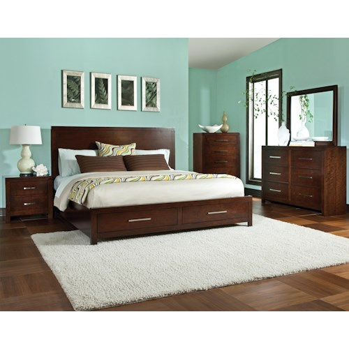 Standard Furniture Metro Queen Bedroom Group