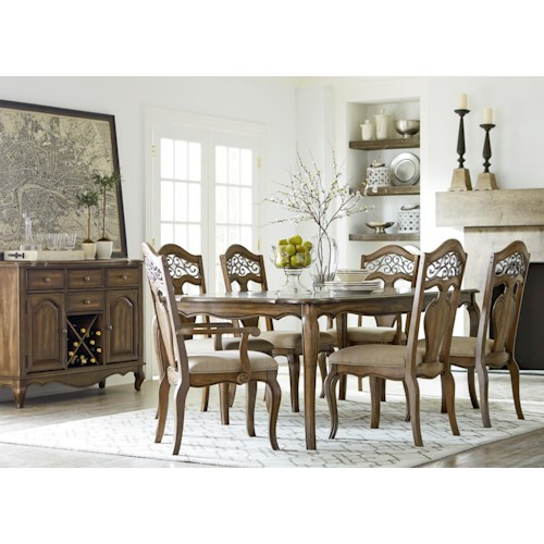 Standard Furniture Monterey Formal Dining Room Group