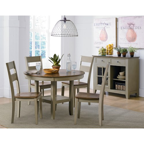 Standard Furniture Pendleton Sage Casual Dining Room Group