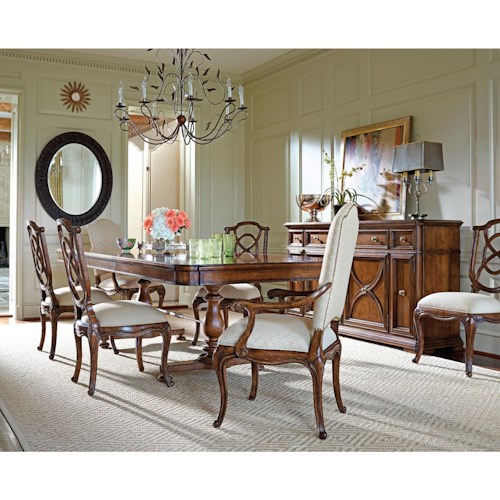 Stanley Furniture Arrondissement Formal Dining Room Group