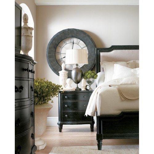 Stanley Furniture European Cottage King Bedroom Group