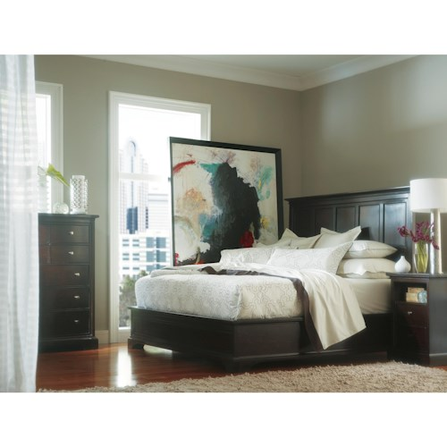 Stanley Furniture Transitional King Bedroom Group
