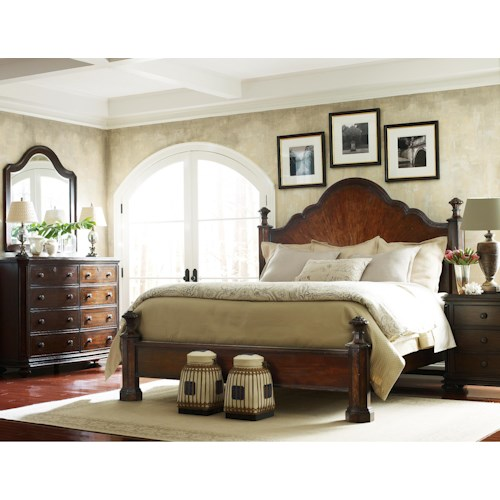 Stanley Furniture The Classic Portfolio Continental Queen Bedroom Group