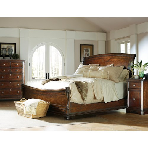 Stanley Furniture The Classic Portfolio Continental California King Bedroom Group