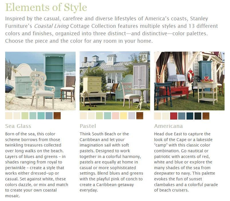 Stanley Furniture Coastal Living Cottage #18: ... 14 Colors And Finishes, Organized Into Three Distinctive Color Palettes That Take Inspiration From Americau0026#39;s