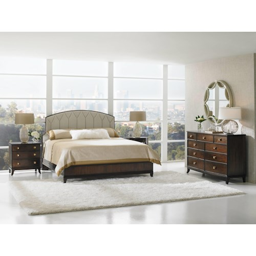 Stanley Furniture Crestaire California King Bedroom Group
