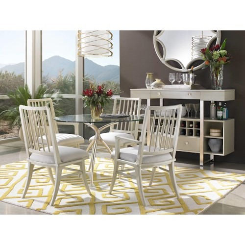 Stanley Furniture Crestaire Casual Dining Room Group