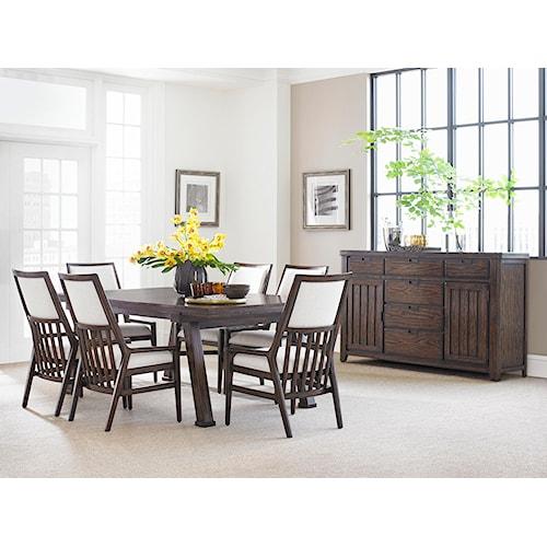 Stanley Furniture Newel Formal Dining Room Group