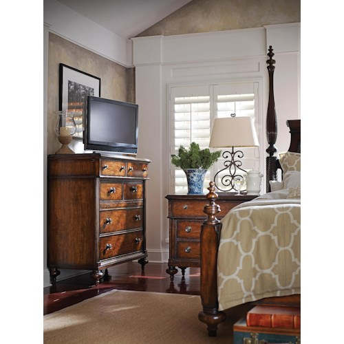 Stanley Furniture The Classic Portfolio - British Colonial California King Bedroom Group
