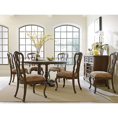 Stanley Furniture Rustica Dining Room Group