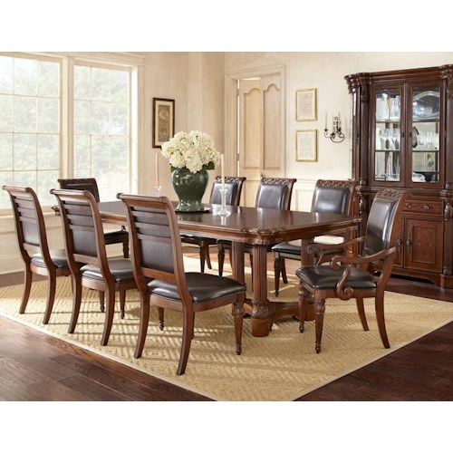 Morris Home Furnishings Alberta Formal Dining Room Group