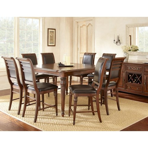 Morris Home Furnishings Alberta Casual Dining Room Group