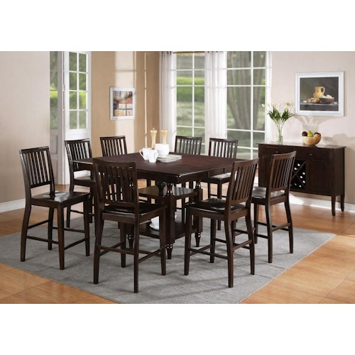Vendor 3985 Candice Casual Dining Room Group