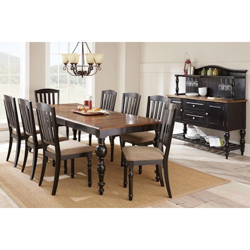 Morris Home Furnishings Carrolton Casual Dining Room Group