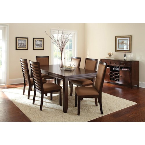Morris Home Furnishings Cornell Casual Dining Room Group