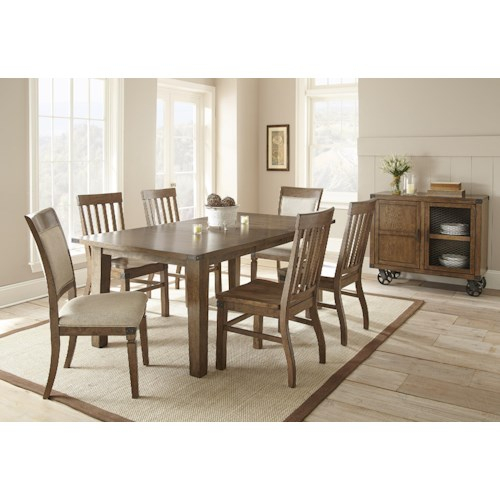 Steve Silver Hailee Casual Dining Room Group 2
