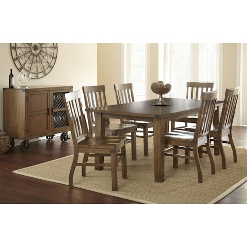 Vendor 3985 Hailee Casual Dining Room Group 1