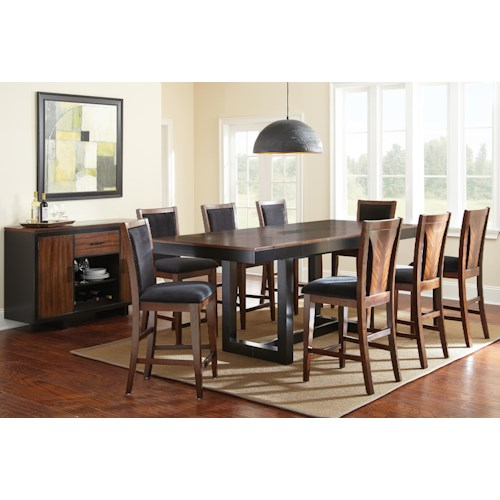Morris Home Furnishings Julian Casual Dining Room Group