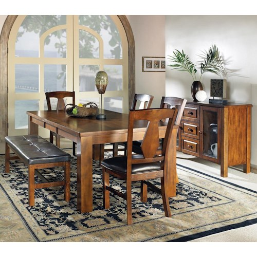 Morris Home Furnishings Lakewood  Casual Dining Room Group