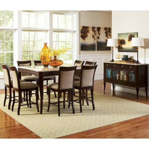 Morris Home Furnishings Marseille Casual Dining Room Group