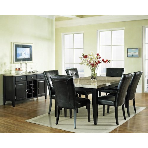 Morris Home Furnishings Madrid Casual Dining Room Group