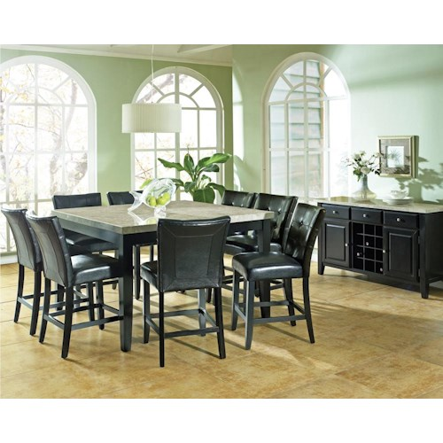 Vendor 3985 Monarch Casual Dining Room Group